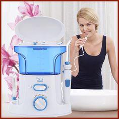 Gustala 600ml Dental Flosser Oral Irrigator Portable Water Oral Floss Dental Irrigator Floss Dental Teeth Care Oral Hygiene Set