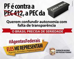 FENAPEF - Agentes Federais protestam contra PEC da Autonomia, na próxima quarta-feira
