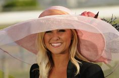 Another Derby hat beauty!
