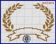 TEMA 01 TEMA 02 TEMA 03 TEMA 04 OPÇÕES DE COROA (TEMA 04) TEMA 05 TEMA 06 TEMA 07 ... Cross Stitching, Cross Stitch Embroidery, Cross Stitch Patterns, Cross Stitch Alphabet, Cross Stitch Baby, Wedding Cross Stitch, Butterfly Cross Stitch, Tapestry Crochet, Crochet Chart
