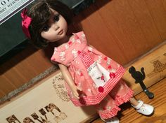 """Doll clothes, 14"""" Tonner, bunny rabbit, 2 piece by judysdollboutique on Etsy"""