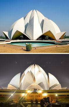 Everyone's heard of the 7 Wonders of the World from ancient times. But believe it or not, there are even more magnificent buildings that deserve our attention. Movement In Architecture, India Architecture, Architecture Images, Landscape Architecture, Modern Buildings, Beautiful Buildings, Nova Deli, Deconstructivism, Gallery Of Modern Art