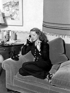 Alfred Eisenstaedt, Bette Davis, Hollywood, California, 1938