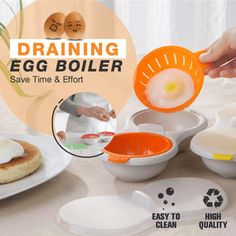 Cool Gadgets To Buy, Cool Kitchen Gadgets, Cool Kitchens, Cooking Gadgets, Cooking Tips, Cooking Recipes, Steamed Eggs, Poached Eggs, How To Make A Poached Egg