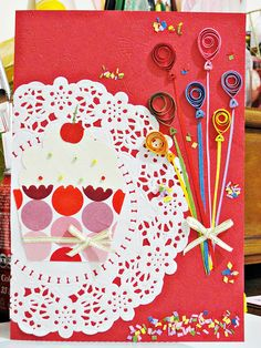 Paper Balloon, Blessing, Quilling, Balloons, Playing Cards, Articles, Colorful, How To Make, Inspiration