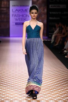 Anita Dongre at LFW Winter/Festive 2012