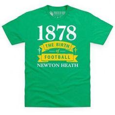 ad1374d9f81 Manchester United Newton Heath - Birth of Football T Shirt