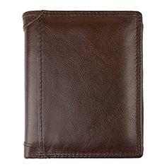 Men Leather Wallet-Billfold Wallet-Money Clips-Card Case Lulyn
