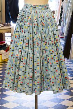 Cabaret Vintage - Ladies Blue Vintage Pleated Skirt, $125.00 (http://www.cabaretvintage.com/vintage-skirts/ladies-blue-vintage-pleated-skirt/)  #vintageskirt  #vintage #dressvintage #shopping #vintagestore #vintagefashion #ilovevintage #vintagelove #vintagegirl #vintageshopping #vintageclothing #vintagefinds #vintagelover #vintagelook #followme #skirtoftheday #ootd #shopitrightnow #instastyle #torontovintage #toronto #queenwest #cabaretvintage