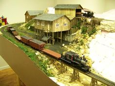 On30 Logging Railroads | Railroad Line Forums - Steve Myers On30 layout still under constuction