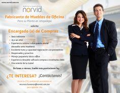 En Norvid...¡Te estamos buscando! #BolsaDeTrabajo #Vacantes #Vacante #Empleo Estamos solicitando Encargado (a) de #Compras ¿Te interesa o conoces a alguien que le pueda interesar? ¡Contáctanos!  www.norvid.com.mx/bolsa-de-trabajo