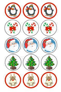 Bottle Cap Images Christmas Holiday Bottle Cap by YourBabyDays