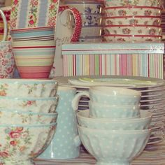 GreenGate crockery