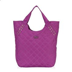 Hynes Eagle Quilted Tote Handbag (Purple) This is rated above 4 stars and stays in the most selling products online in Luggage category in Canada. Click below to see its Availability and Price in YOUR country.