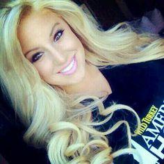 Ashley Alexiss in black tshirt