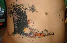 "calvin and hobbes tattoos | 21 Super Fun ""Calvin & Hobbes"" Tattoos | UPROXX"