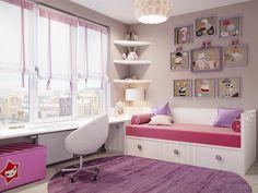 Стильно🌷👌 ⠀⠀⠀ ⠀⠀⠀ ⠀⠀⠀ #детскаякомната#комнатадлямальчика#комнатадлядевочки #дизайн#дизайнинтерьера…