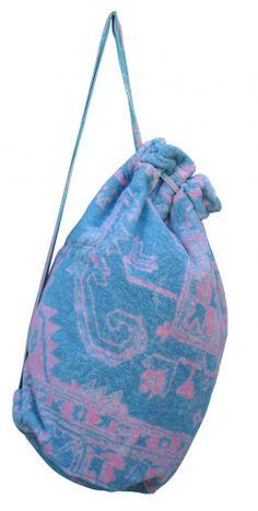 Granada Rug Chambray Blue/Pink - Nomad Bag - Fresco Towels