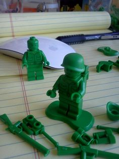 Lego Soldiers. Birthday wish
