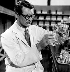 "Cary Grant en ""Me Siento Rejuvenecer"" (Monkey Business), 1952"
