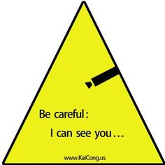 KaiCong pjb84 monitor warning signs warning stickers warning signs burglar warning sign by KaiCong. $3.99. KaiCong (tm) custom surveillance camera warning signs sticker # 84 Size: 25 * 25 Unit: cm Wall stickers / glass paste Comes the powerful gum torn off can paste