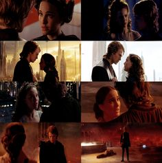 Star Wars Episode III: Revenge of The Sith Anakin Skywalker and Padmé Amidala Skywalker, the most tragic love story.