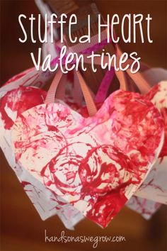 A perfect Valentine's Day Craft and gift for Preschoolers!