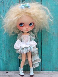 Reserved Custom Blythe doll FIORELLA by Marina nr par Marinart