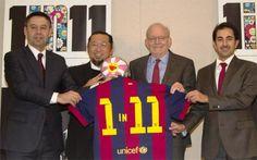 El FC Barcelona amplía y prolonga su alianza con Unicef