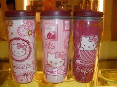 Hello Kitty travel mug