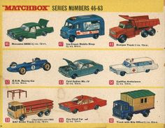 Matchbox Collector's Catalogue, 1968, by Wishbook, via Flickr.  I still have #'s 48-60.