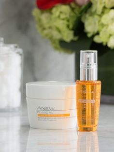 The Game Changers! Introducing our cutting edge technologies at the forefront of skincare innovation with the Avon ANEW Clinical Extra Strength Retexturizing Peel and ANEW Vitamin C Brightening Serum.