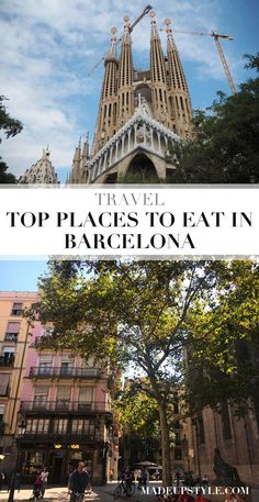 4 Places to Eat in Barcelona - Made Up Style Barcelona Travel, Top Place, Short Break, Places To Eat, Spain, Adventure, City, Board, Sevilla Spain
