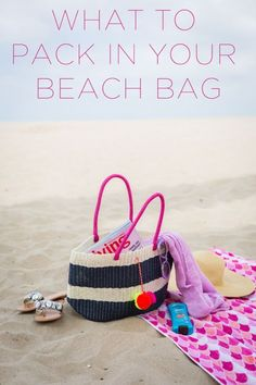 I'm sharing what to pack in your beach bag! I have a summer tote bag full of essentials I never have a beach day without! Beach Trip Packing, Packing List For Travel, Travel Tips, Autumn Summer, Summer Fun, Summer Tote Bags, Am Meer, What To Pack, Beach Day