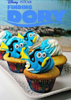 Looking for a fun cupcake recipe? Try Finding Dory Cupcakes Recipe We even teach you how to make Dory Icing Toppers! Swing by and check