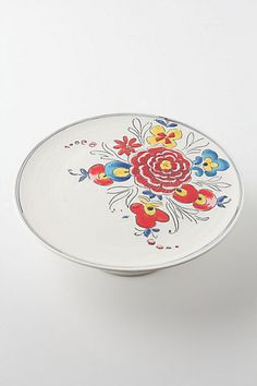 gorgeous Molly Hatch cake plate ~ thrilled to have her teaching ceramics at the Makerie this spring
