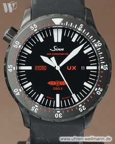 Sinn UX S GSG 9 EZM 2B Taucheruhr 403.062-(3802)- bei Uhren - Wellmann