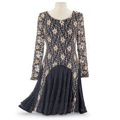 Miette Crochet & Lace Dress - Women's Clothing & Symbolic Jewelry – Sexy, Fantasy, Romantic Fashions