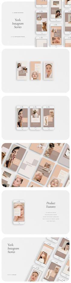 Best Instagram Stories, Instagram Promotion, Envato Elements, Instagram Story Template, Instagram Templates, Promotional Design, Graphic Design Studios, Social Media Design, Design Your Own