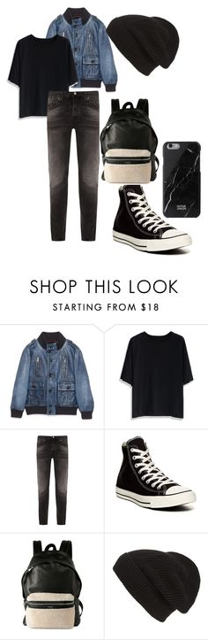 """""""Mystery guy"""" by real-wonderland on Polyvore featuring Gucci, Chicwish, Nudie Jeans Co., Converse, Yves Saint Laurent, Phase 3 and Native Union"""