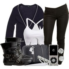 """""""hey.(:"""" by perfectly-mindless on Polyvore"""