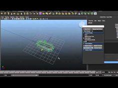 Duplicate along curve Maya Script. - YouTube