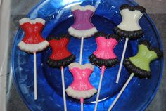 12 Corset Lollipops In Your Choice Of Color by ericajmoore on Etsy, $18.00