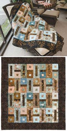 Sugar and Spice Quilt--Love the colours in this quilt!
