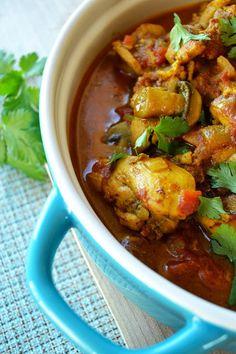 Chicken & mushroom curry