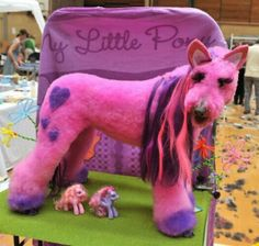 Scary, but funny.  MLP Doggy.  Idea for Doll and Pet Parade?