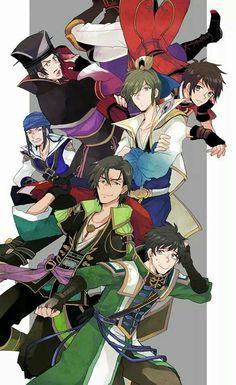 Dynasty Warriors Sengoku Musou, Sengoku Basara, Warriors Game, Dynasty Warriors, Pokemon Conquest, Warrior Images, Anime Art Fantasy, Samurai Warrior