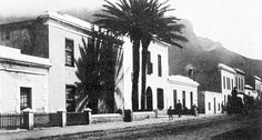 Long Street in the early Old Pictures, Old Photos, Vintage Photos, Cities In Africa, Table Mountain, Most Beautiful Cities, Historical Pictures, African History, Cape Town