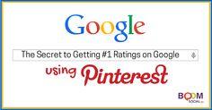 The Secret to Getting #1 Rankings on Google Using Pinterest!