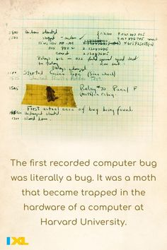The first computer bug was discovered #OnThisDay in 1947! #TBT Number Grid, Countries Of Asia, Primary And Secondary Sources, Cardinal Directions, Branches Of Government, Major Holidays, American Symbols, Great Depression, Declaration Of Independence